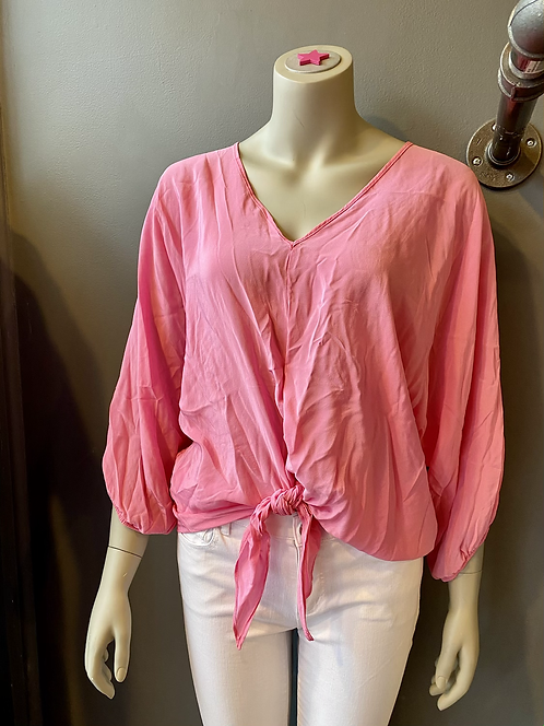 Aum Couture Silk Top