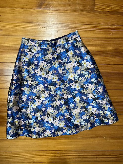 J.Crew Collection Floral Skirt
