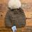 Thumbnail: Kyi Kyi Fleece Lined Pom Hat