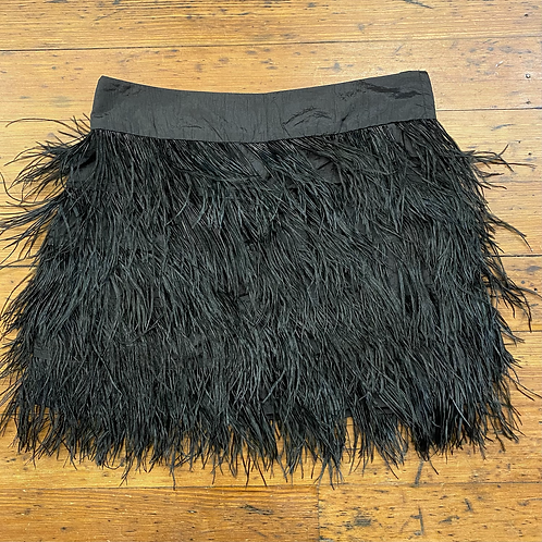 Fumblin Foe Feather Mini Skirt
