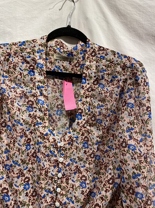 The East Order Floral Blouse