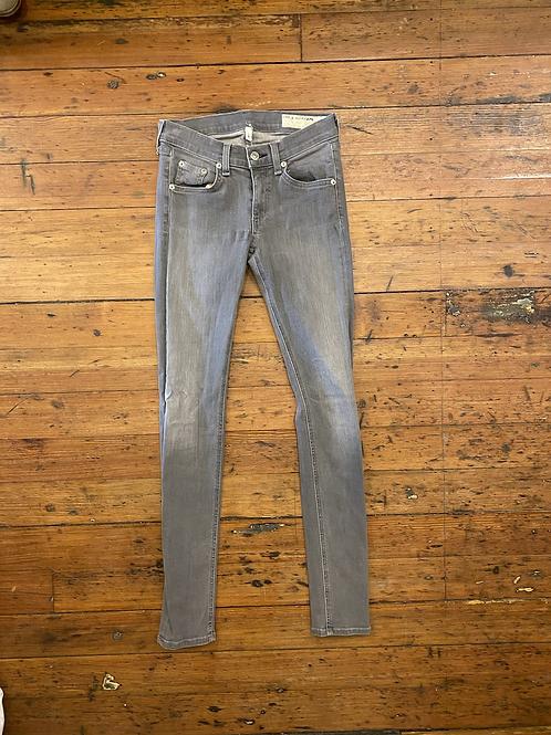 Rag & Bone Skinny Gray Jeans