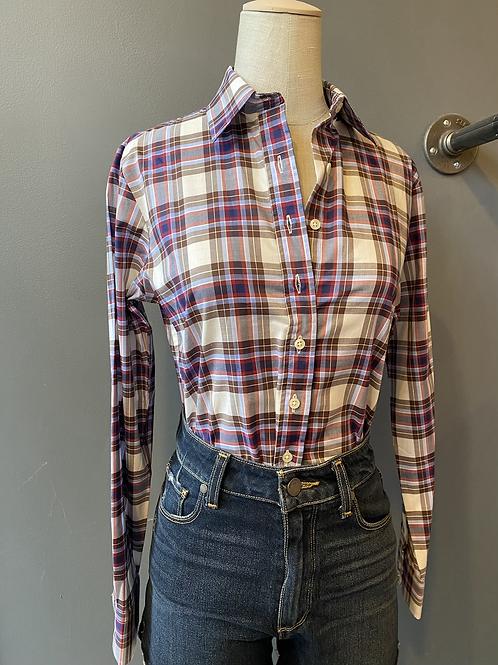 "The Shirt ""No Gape"" Buttondown   XS"