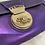 Thumbnail: Fendi Metallic Borsa Tuc Shoulder Bag