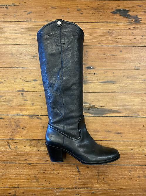 Frye Heel Pull On Boots