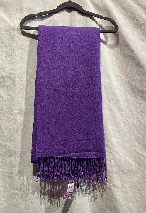Pashmina in Purple