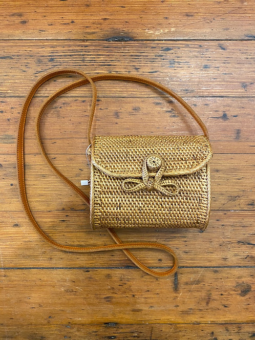 Raffia Mini Bag