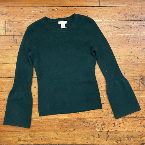 Oats Cashmere Bell Sleeve Sweater