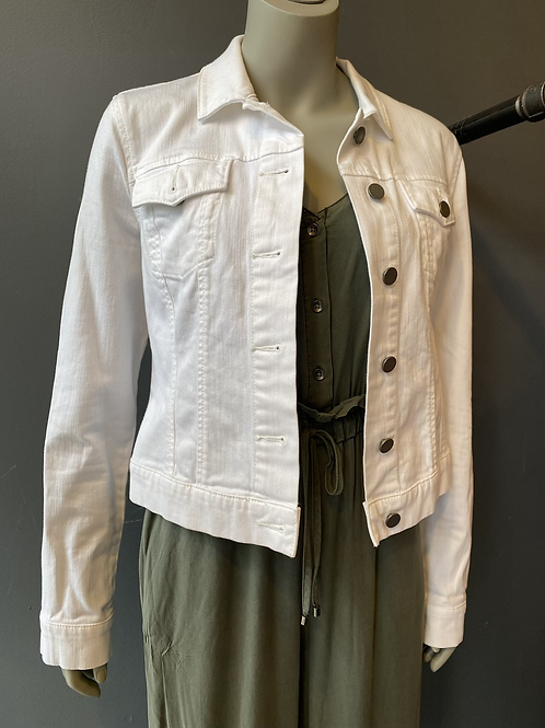Paige White Denim Jacket | Medium