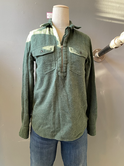 Madewell Flannel Pullover