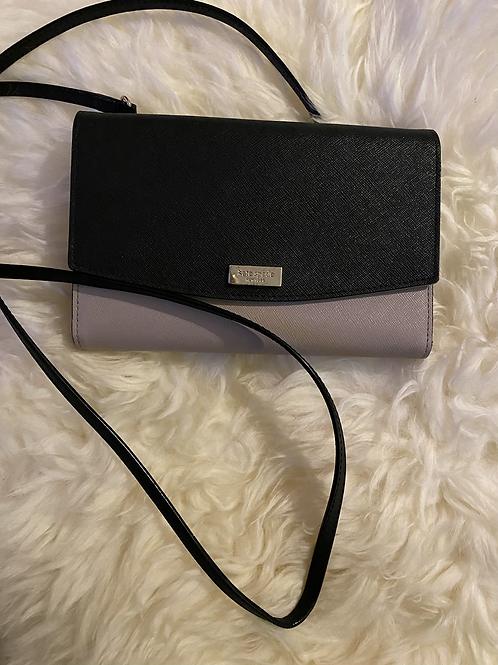 Kate Spade Wallet w/ Crossbody Strap