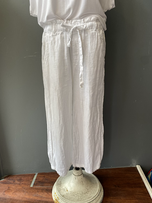 Cloth & Stone Linen Crop Pants