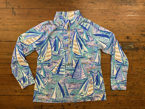 Lilly Pulitzer Skipper Popover in About Time