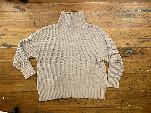 Aerie Chenille Funnel Sweater
