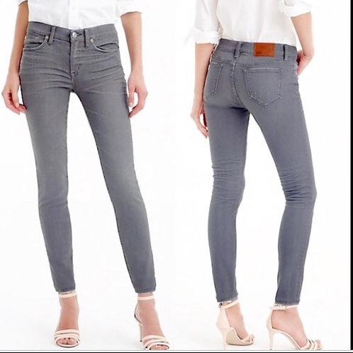 J.Crew Toothpick Gray Jeans
