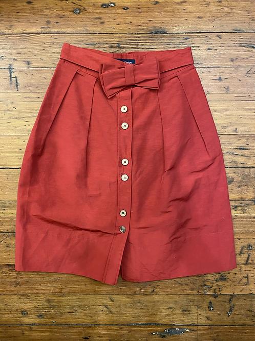 Aquascutum Bow Skirt