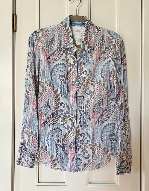 Cino Printed Button Up