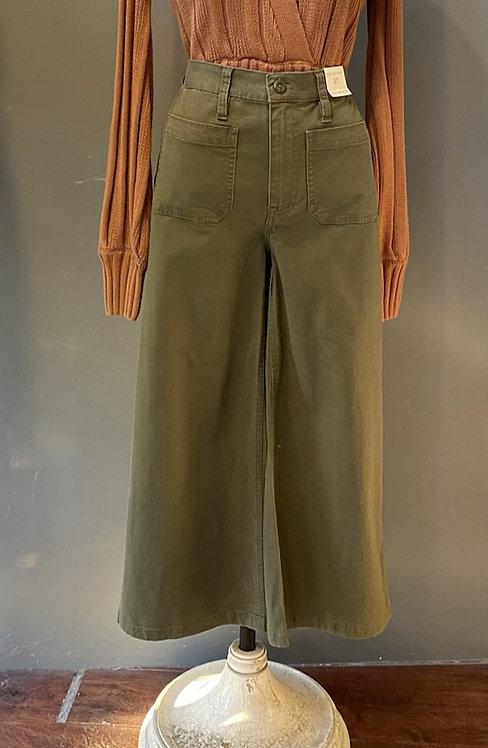 J.Crew Point Sur Wide Leg Crop Pants