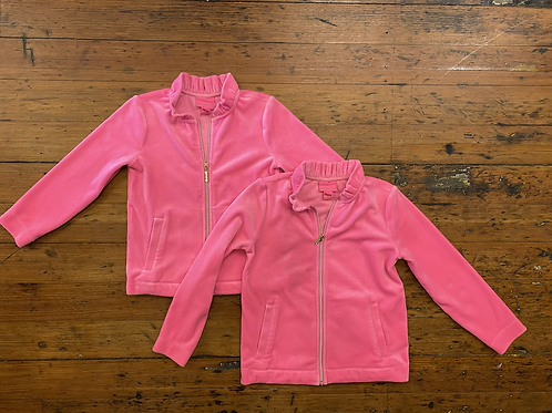 Lilly Pulitzer Velour Track Jacket