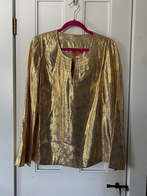 Tory Burch Gold Tunic