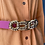 Thumbnail: Pink Leather Belt