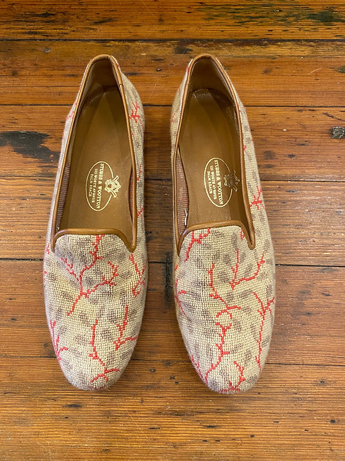 Stubbs & Wootton Needlepoint Loafers