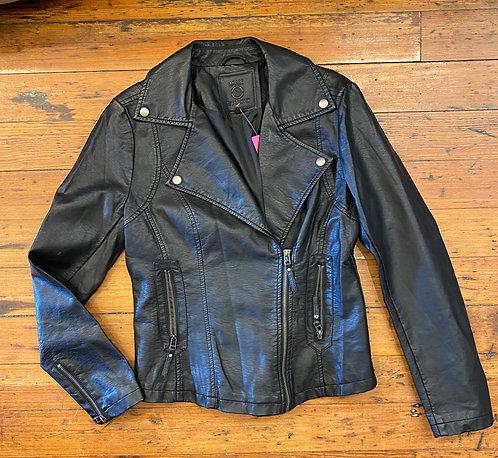 Max Studio Faux Leather Jacket