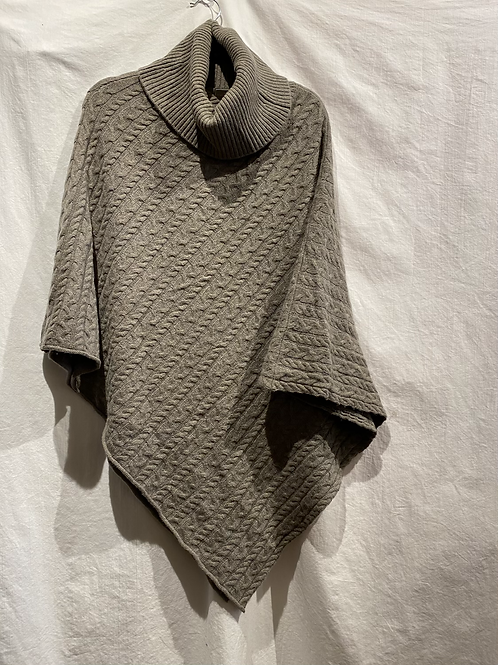 Ply Cashmere Cowl Poncho