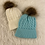 Thumbnail: Wish Cableknit Pom Hat