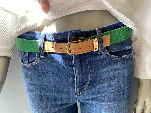 YSL Vintage Webbing Belt