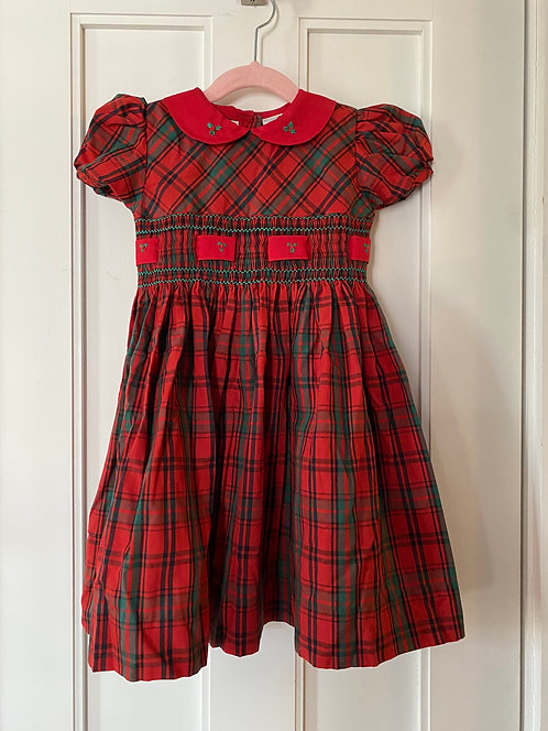 Carriage Boutique Plaid Dress