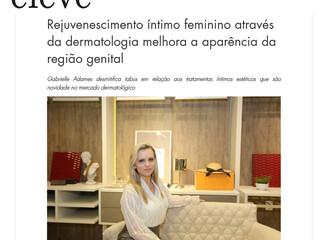 Dra. Gabrielle fala sobre saúde íntima feminina na Revista Eléve