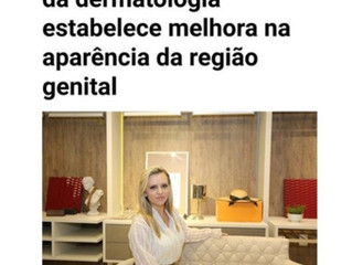 Dra. Gabrielle fala sobre rejuvenescimento íntimo no Jornal O Sul