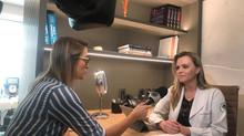 Dra. Gabrielle fala sobre o Dezembro Laranja na Record