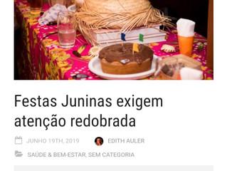 Cuidados com queimaduras nas festas juninas