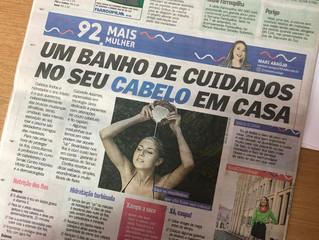 Dra. Gabrielle fala sobre cabelos no Diário Gaúcho