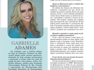 Entrevista para a Revista Expansão sobre cuidados com a pele masculina