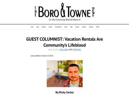 Vacation Rentals Are Community's Lifeblood