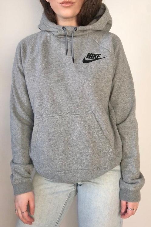 Grey Nike hoodie (S-M)