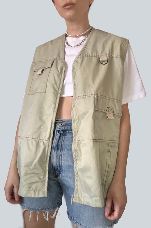 Cream Utility Vest