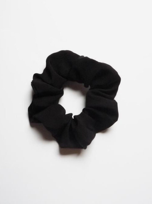 Recycled Black scunchie