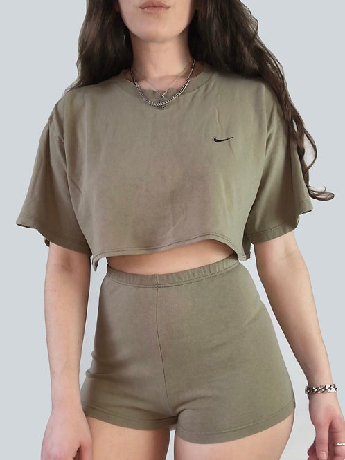 Re-designed Nike Set in Taupe