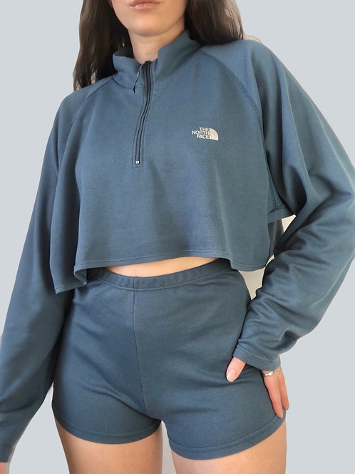 Re-designed The North Face set in powder blue (L-XL)