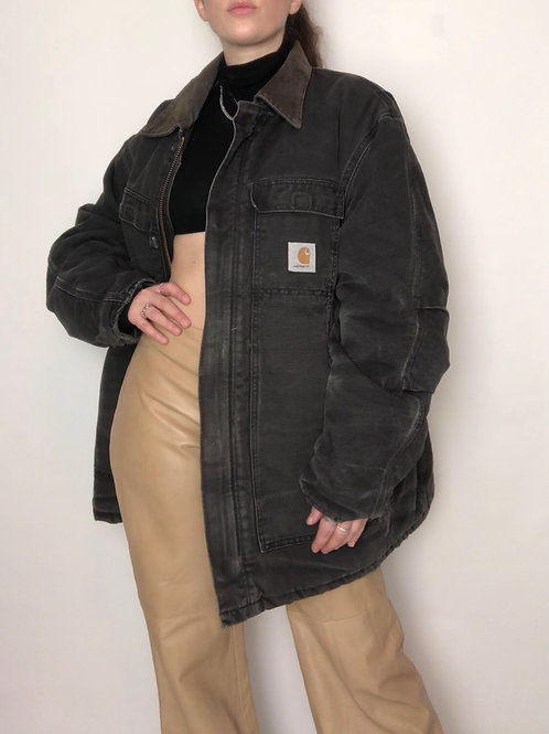 Vintage 90s Black Carhartt coat (XS-XL)