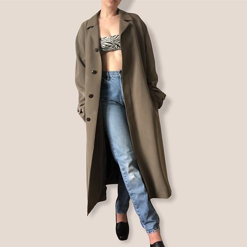 Sanyo Khaki Trench Coat