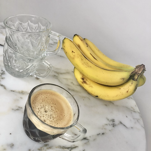 2 glass Coffee Mugs