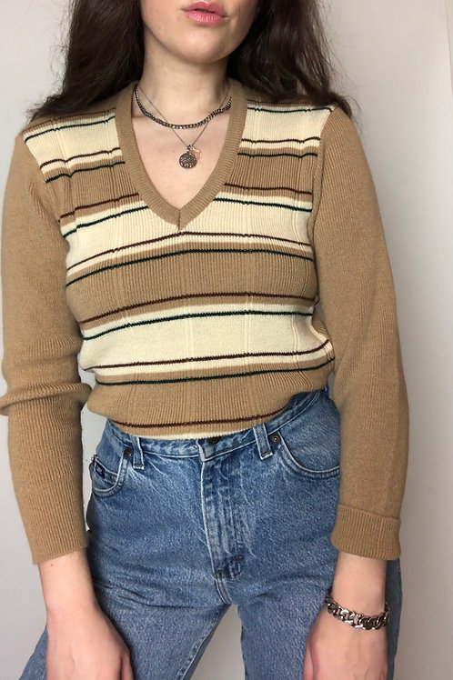 Vintage striped sweater (S-M)