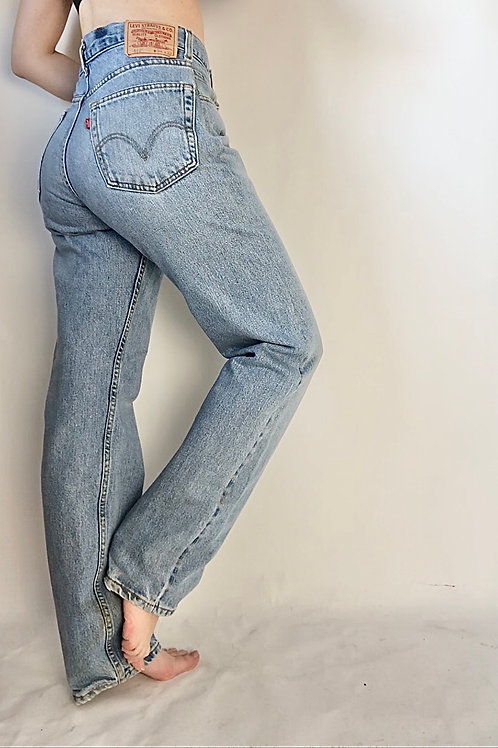 """Reconstructed Vintage levi's 512 (30"""")"""