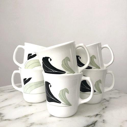 Vintage 90s mugs
