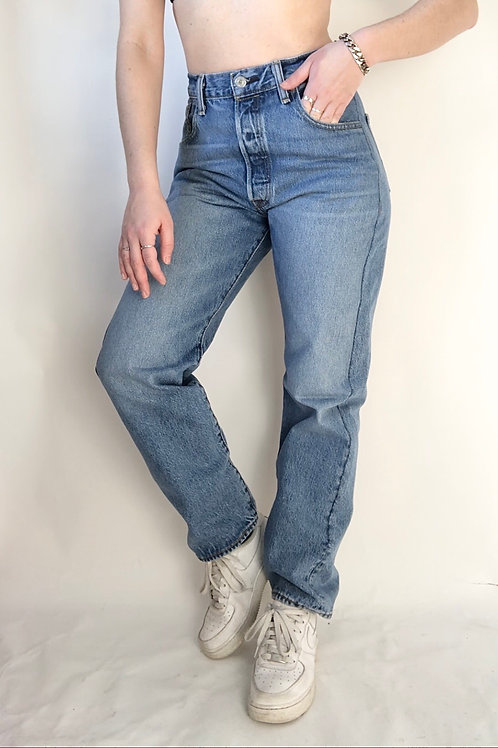 "Reconstructed Vintage Levi's 501 (29"")"